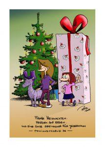 Frohe Weihnachten 2016 von Toni & Charlie